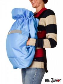 Protectie de iarna pentru marsupiu BB Junior-albastru