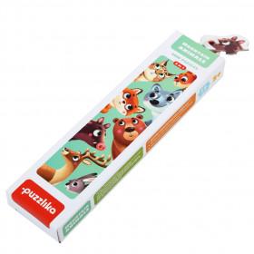 Puzzle 16 piese, Animalutele de la Munte, Cubika