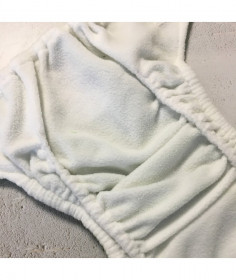 Scutec textil refolosibil cu buzunar Baba+Boo Daisies