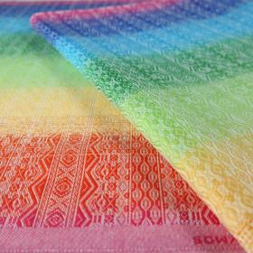 Sling cu inele Didymos - Ada Rainbow