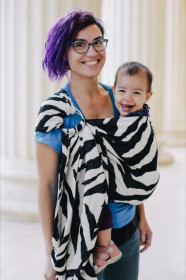 Sling reglabil Zebra, Poarta-ma!