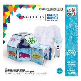Ursule polar, tu ce auzi?, Eric Carle, Magna-Tiles Structures