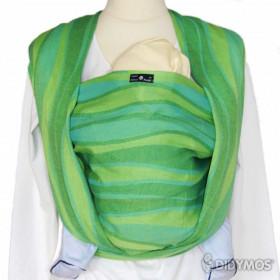 Wrap tesut Didymos - Waves Lime, marimea 7 (5,2 m)