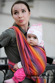 Wrap tesut Lennylamb - SUNSET RAINBOW  (4,6m)