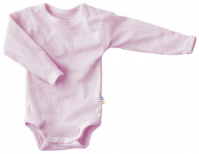 Body Joha din lână merinos - Basic Pink
