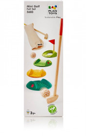 Mini Golf Full Set, Plantoys