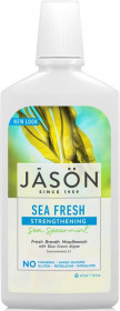 Apa de gura Sea Fresh cu sare de mare si minerale pt detoxifierea si intarirea dintilor, Jason