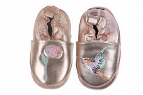 Botosei din piele pentru interior - Hummingbird Rose Gold, Melton