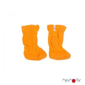 Botosei ManyMonths Winter Booties pt babywearing - Golden Oat/Golden Yellow
