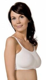 Bustiera Carriwell pentru gravide si alaptare Comfort Bra - Alb