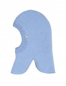 Cagulă dublată Joha fleece lână merinos - Basic Blue Allure