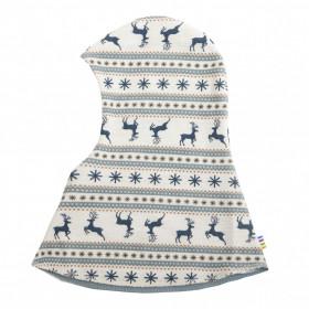 Cagula dublata Joha lână merinos -Jumping Deer, Blue