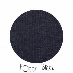 Cagula ManyMonths Bunny Ears lână merinos - Foggy Black
