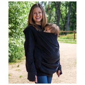 Hanorac pentru babywearing, sarcina si alaptare Boba Hoodie Gri