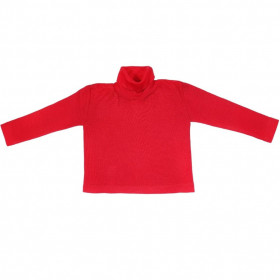 Helanca pentru copii Cosilana lână merinos si matase - Red