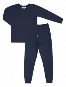Homewear Joha bambus - Basic Navy