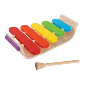 Instrument muzical- Xilofon oval din lemn, PlanToys