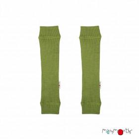Jambiere ManyMonths lână merinos -Garden Moss Green