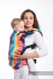 LENNYUP CARRIER, FULL WRAP CONVERSION BUTTERFLY RAINBOW LIGHT