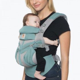 Marsupiu ergonomic,Ergobaby Omni 360 Cool Air Mesh,Icy Mint