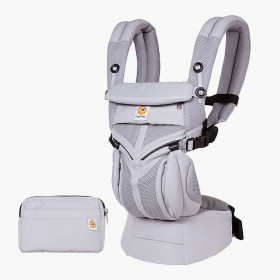 Marsupiu ergonomic,Ergobaby Omni 360 Cool Air Mesh Lilac Grey