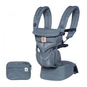 Marsupiu ergonomic,Ergobaby OMNI 360 COOL AIR MESH, OXFORD BLUE