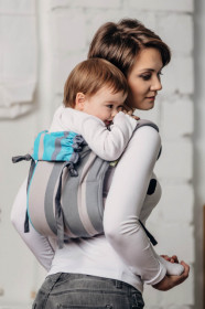 Marsupiu Ergonomic,Lenny Lamb Onbuhimo Toddler, MISTY MORNING