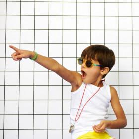 Ochelari de soare Ki ET LA ,4-6 ani -Round Memphis