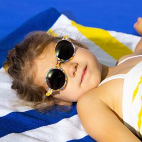 Ochelari de soare Ki ET LA ,4-6 ani -Round Rosemood