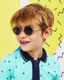 Ochelari de soare Ki ET LA, 6-9 ani - Round Zigzag