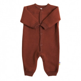 Overall Joha fleece lână merinos - Red, marimea 60