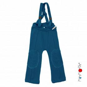 Pantaloni cu bretele ManyMonths lână merinos - Hazel Mykonos Waters