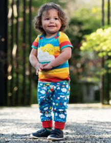 Pantaloni din bumbac organic - Climb A Rainbow, Frugi