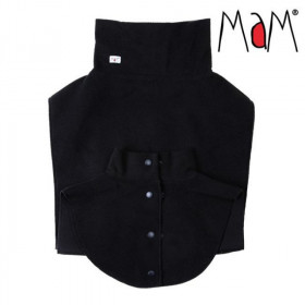 Pieptar polar MaM pentru Babywearing (mama+copil) - Black (negru)