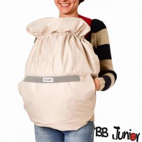 Protectie de iarna pentru marsupiu BB Junior-crem