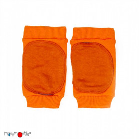 Protectii genunchi ManyMonths Knee Tubes lână merinos - Festive Orange