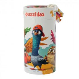 Puzzle 25 piese, 5 in 1 ,Birds, Cubika