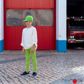 Șapcă ajustabilă ManyMonths cânepă și bumbac - Gooseberry Green