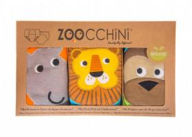 Set 3 Chilotei Antrenament, Zoocchini, Baiat, 3-4 ani, 100% Bumbac Organic, Safari