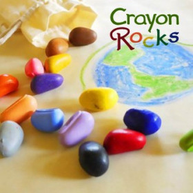 Set Crayon Rocks - 8 Creioane Naturale