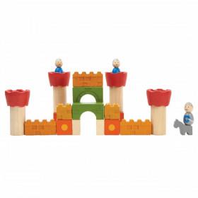 set-constructie-castel-lemn-plantoys