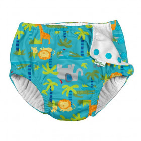 Slip de inot refolosibil Iplay UPF 50+ - Aqua Jungle