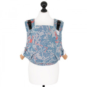 Toddler Size: Fidella Fusion Full Wrap Conversion, Sea Anchor-Maritime Blue (Transport Gratuit)
