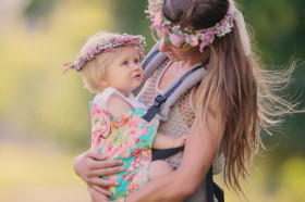 Tula Toddler Carrier - Bliss Bouquet