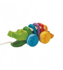 Crocodilul Curcubeu, Plan Toys