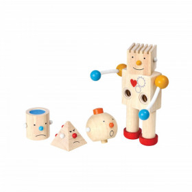 Set de construcție începători - Construiește un robot, Plan Toys
