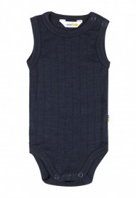 Body/maiou Joha din lână si mătase - Basic Navy