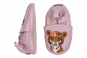 Botosei din piele pentru interior - Leopard Rose, Melton