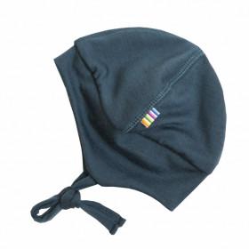 Caciula dublata Joha lână merinos - Baby Single Wool Storm Navy