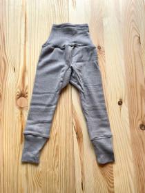 Cei mai comozi pantaloni Cosilana din lână, mătase și bumbac - Grey Melange